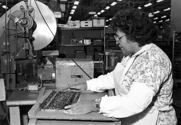 Woman Textile Worker ACTWU Local3-T Schlegel