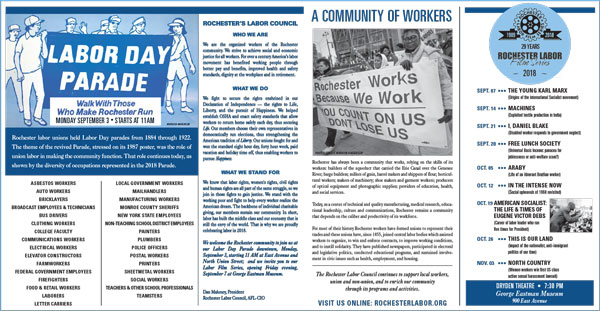 Rochester Labor Education Flyer